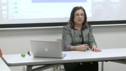 Professor Diane Dinitto in class