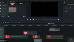 A screenshot of Camtasia interface