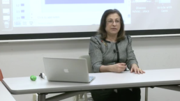 Professor Diane Dinitto in class